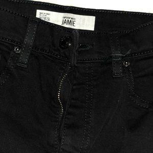 Black Skinny Jamie Jeans